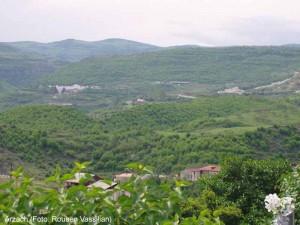Berg-Karabach Landschaft