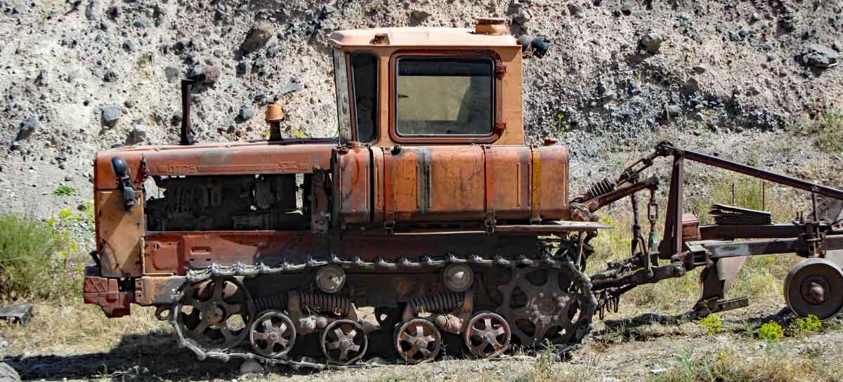 Traktor in Syunik